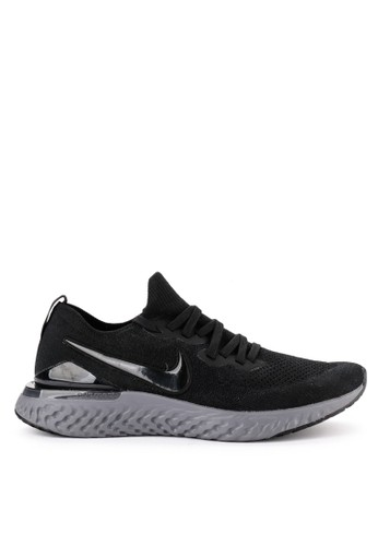 Nike black Nike Epic React Flyknit 2 Shoes B2B26SH99B1434GS_1