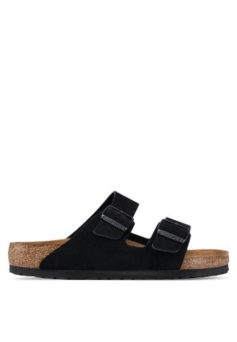 e4d7a8095 Shop Birkenstock Arizona Suede Soft Footbed Sandals Online on ZALORA  Philippines