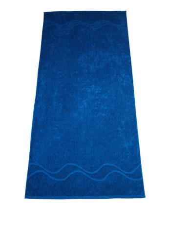 Martel blue Martel Oversized Bath Towel EF482HLF7BF980GS_1