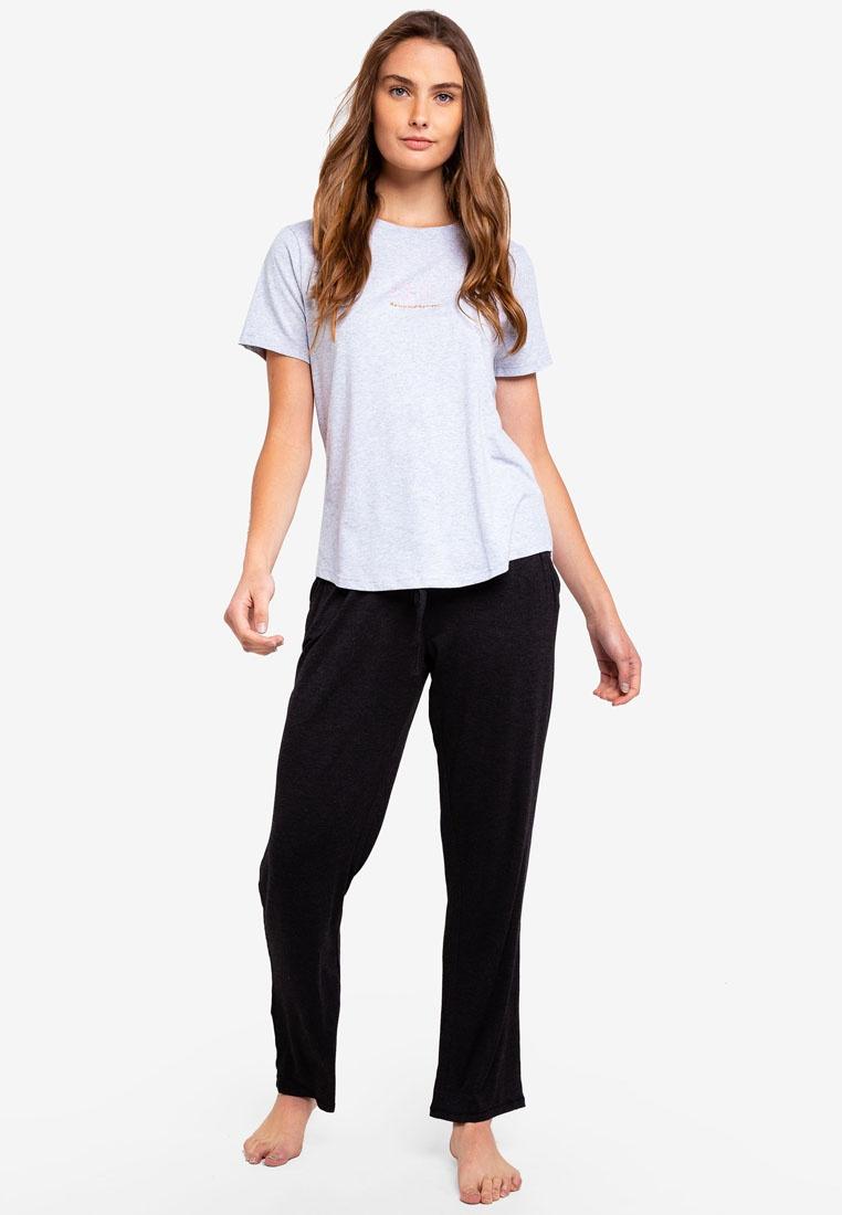 Marle Moon T Grey Jersey Cotton Sun Body Scoop Shirt On zIZ0qa6