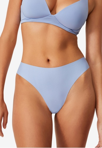 Cotton On Body blue The Invisible High Cut Brasiliano Briefs C0F12US30D4F3CGS_1