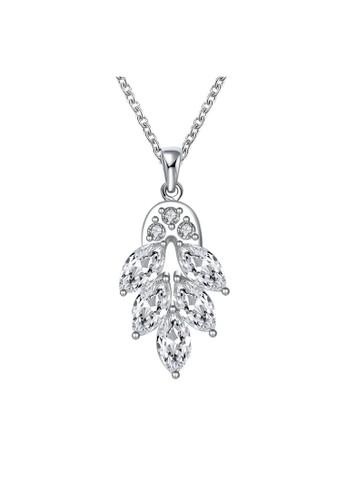 Tiaria white Tiaria Gold Plated Necklace Pendant Fashion Party SPCN369--K09 B4ED3AC57E5D03GS_1