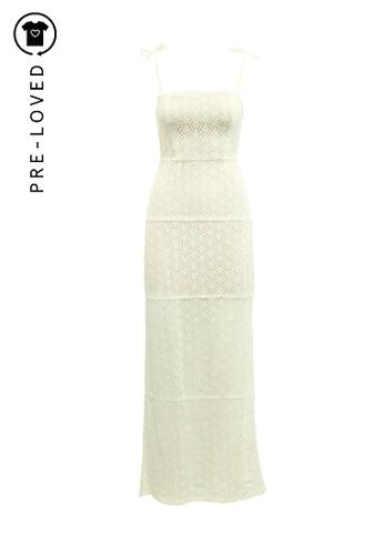Reformation beige Pre-Loved reformation Elegant Maxi Crochet Dress A7F0DAA00191B2GS_1