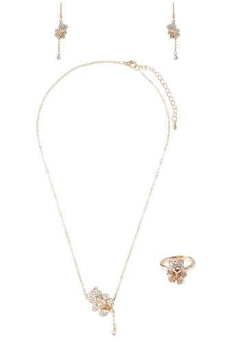 金熊造adl esprit型首飾組合, 飾品配件, 項鍊