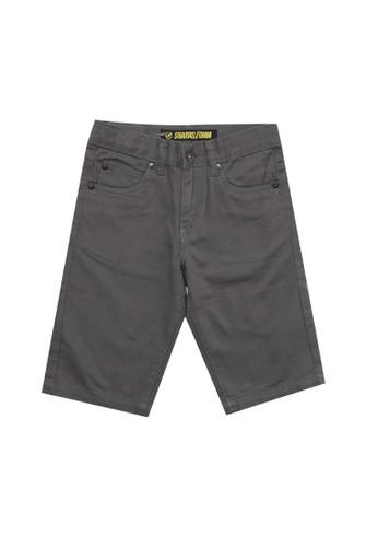 SHARKS grey Casual Short Pants 559EDKAE734B69GS_1
