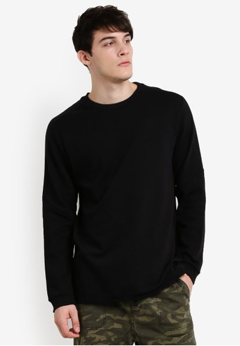 Cotton On black Among Equals Tall Crew T-Shirt CO372AA14JQNMY_1