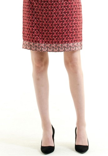 Bateeq Regular Dobby Print Skirt