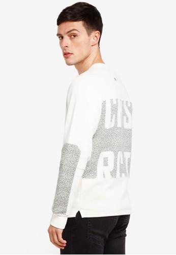 Jack & Jones white Object Sweatshirt 0E67BAA6E3AD3FGS_1