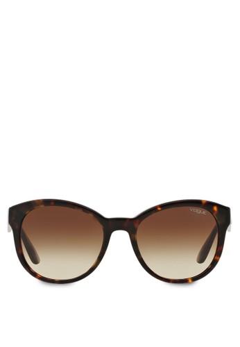 In Voesprit 會員gue 玳瑁太陽眼鏡, 飾品配件, 方框