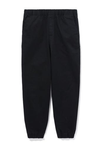 :CHOCOOLATE black Elasticated pants 7F505AAFA45D8BGS_1
