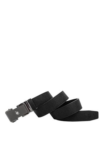 Swiss Polo black 40mm Automatic Belt B3CF2AC5F61FE6GS_1