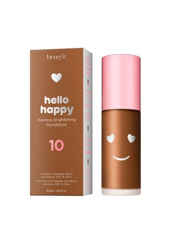 Benefit beige Hello Happy Flawless Brightening Foundation Shade 10 A033FBE5A17A32GS_1