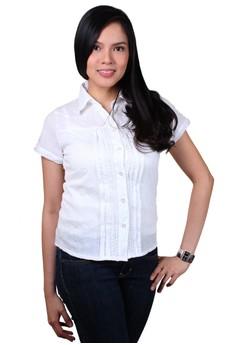 Crystal Fashionable Ladies Work Shirts/Formal Shirt