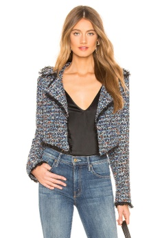 a34e92b31b7f Lovers + Friends blue Paola Cropped Jacket(Revolve) 590D5AA853A354GS_1