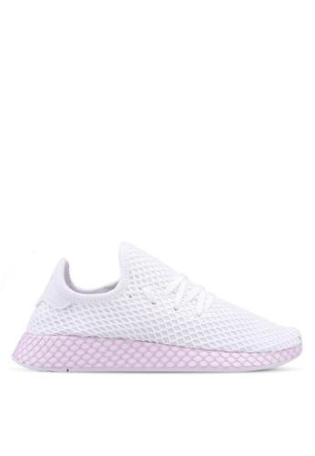 adidas white adidas originals deerupt w 5E086SH559369CGS_1