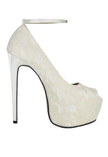 Jacque beige Party Beige Heels with Strap JA262SH17ENAMY_1