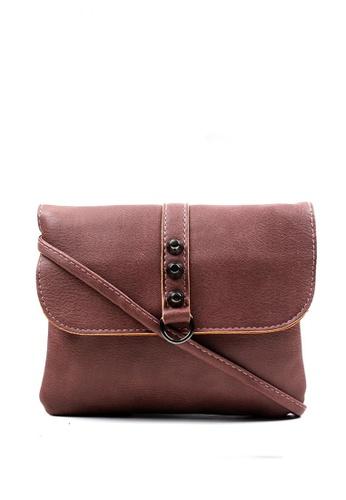Vintage Paris brown Lyca Cross Body Bag  VI567AC0IN49PH_1