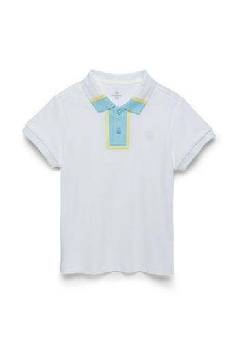 Kingkow blue Short Sleeve Polo Shirt 4-14 years FE7FEKA261A322GS_1