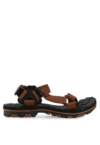 Homyped brown Stranger 02 Sandal Gunung Men HO842SH22MOZID_1