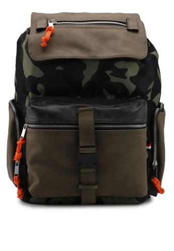 ALDO green Mackedanz Backpack DDAF4ACAA486BFGS_1