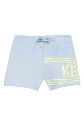 KENZO KIDS blue KENZO BABY BOYS BERMUDAS 704AFKA820B87AGS_1
