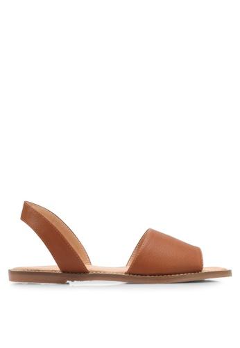 Alfio Raldo brown Casual Sandals AL803SH0SL2RMY_1