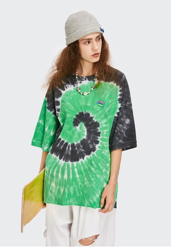 Twenty Eight Shoes Tie-Dyed Short T-shirt 1625S21 76A19AA198232EGS_1
