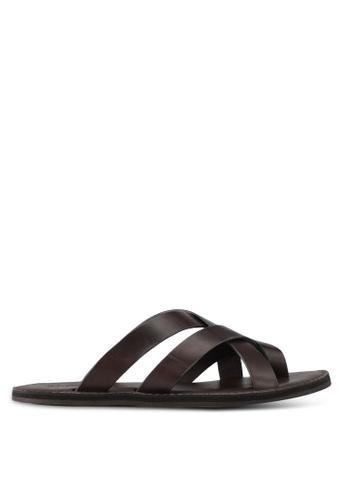 ALDO brown Vigodia Sandals DCBBBSHBBEA929GS_1
