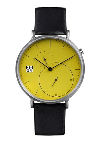 Zoom black Casual Men's Watches ZM 7140M.2511 E4730ACC34F9B8GS_1