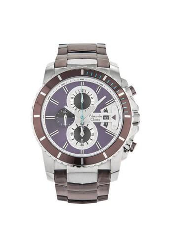 Alexandre Christie purple Alexandre Christie AC 6455 MCBTLPU Jam Tangan Pria Stainless Steel 24558AC22F3CE0GS_1