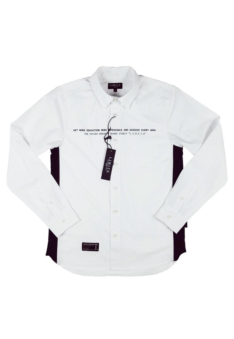 I L E T Printed I 3M Shirt M White vxRAFqwX