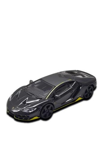 bburago yellow and grey Bburago 1.43 Street Fire Asst - Lamborghini Centenario Grey Yellow 07881TH1FC9BA5GS_1