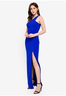 26cdcf3abe Asymmetric Thigh Split Maxi Dress 5DC7CAAE9D3779GS 1