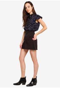 a6fa0026708 37% OFF Something Borrowed Ruffles Trim Slouchy Shirt S  34.90 NOW S  21.90  Sizes XS S M L XL