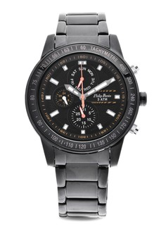 Analog Watch 2228BK-BK-OR-Hand