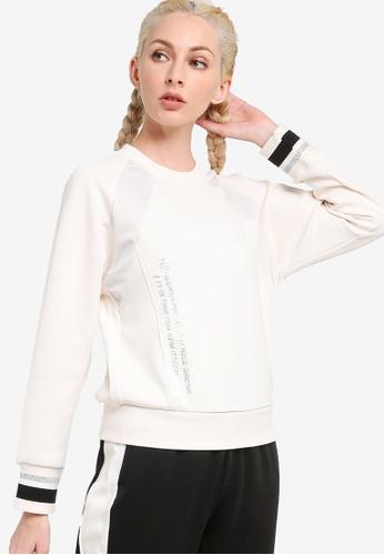 361° white Casual Sweatshirt C58E4AA3251F67GS_1