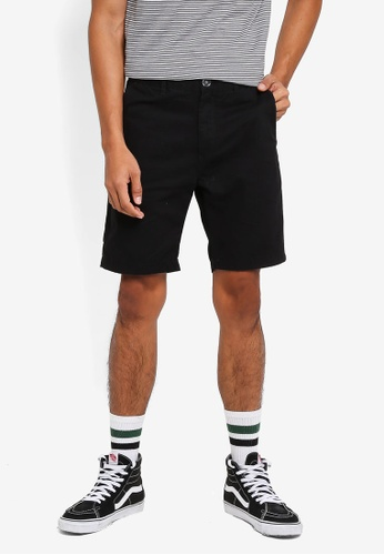 Cotton On black Washed Chino Shorts 30E29AAE35F148GS_1