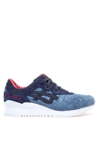 ASICSTIGER blue GEL Lyte III Sneakers AS118SH86UGVPH_1
