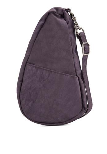 Healthy Back Bag purple Textured Nylon Baglett Backpack HE382AC54VFDMY_1