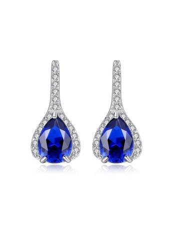 SUNRAIS silver High quality Silver S925 silver simple design earrings 5F1D1ACAAF21F6GS_1