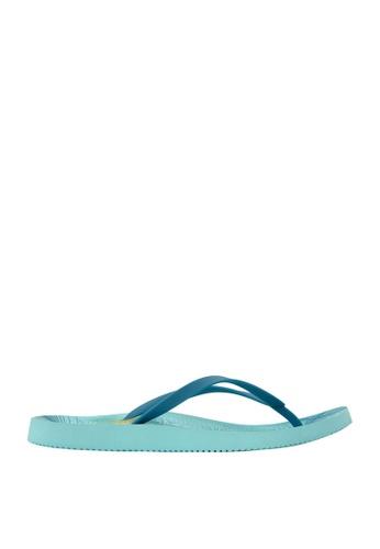 Vionic blue Womens Beach Noosa ToePost 4197ESH464B390GS_1