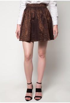 Jacquard Skater Skirt