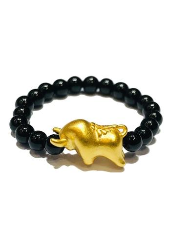 LITZ gold [SPECIAL] LITZ 999 (24K) Gold Ox Ring 牛戒指 EPC1005-R-B(0.12g+/-) 1D184AC93DD894GS_1