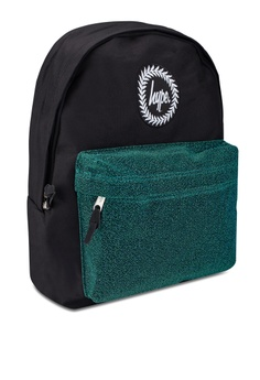 2e059e2e2dbb 26% OFF Just Hype Velour Pocket Backpack RM 187.00 NOW RM 138.90 Sizes One  Size