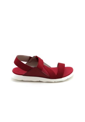 Bata Bata Women Sandal - Red 5615981 EF12ESHD348B06GS_1