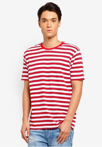 Factorie 多色 條紋T恤 586DBAA7696F42GS_1