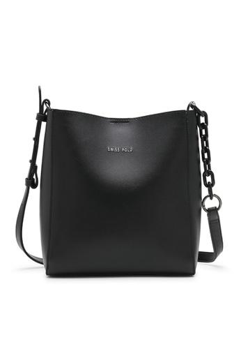 Swiss Polo black Mall Sling Bag D39C8AC11DB73AGS_1