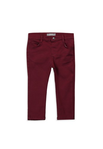 LC Waikiki red Baby Boy's Slim Fit Heavy Trousers 53D90KA3F8BB4BGS_1