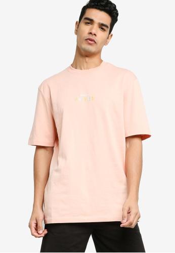 PUMA pink Downtown Graphic Tee 9F8F9AA40065AEGS_1