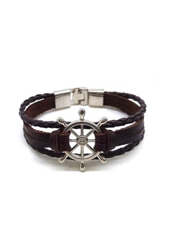 Her Jewellery brown Owen Bracelet 522F7AC3DFC531GS_1